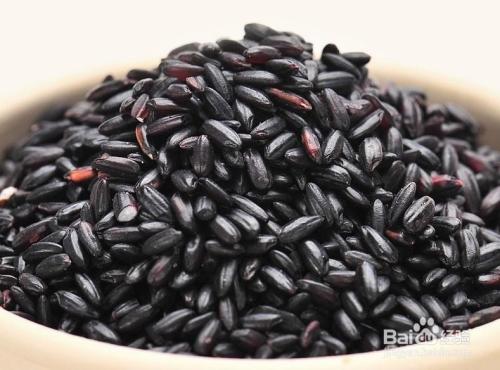 五谷杂粮饮料中黑米的营养价值