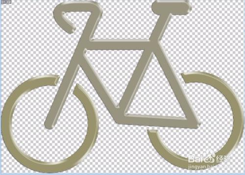 自行车简笔画设计