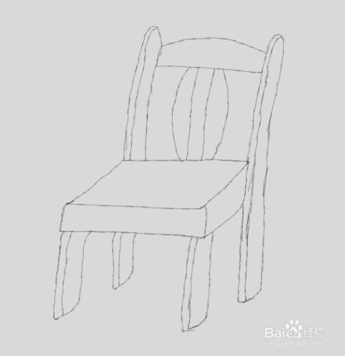简笔画椅子是怎么画的