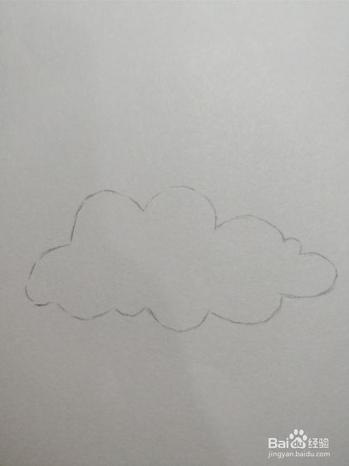 简笔画画乌云