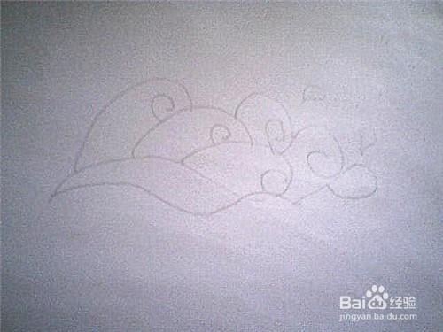 简笔画大海浪花的画法
