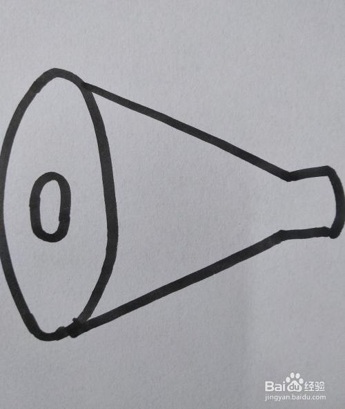 喇叭的简笔画怎么画