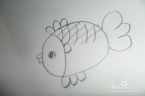 简笔画小鱼儿