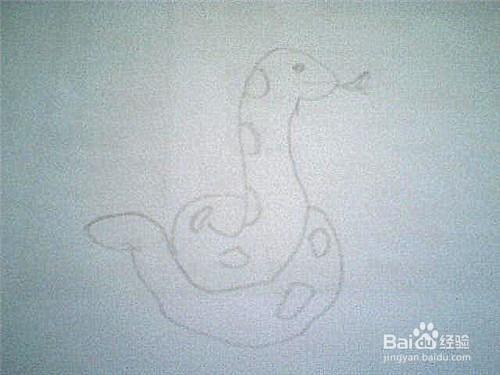 简笔画 蛇是怎样画的