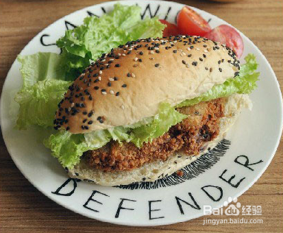 炸鸡汉堡怎么做?炸鸡汉堡做法图文详细介绍
