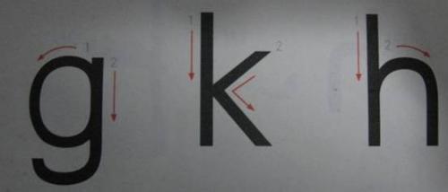 汉语拼音基本笔画名称及书写顺序