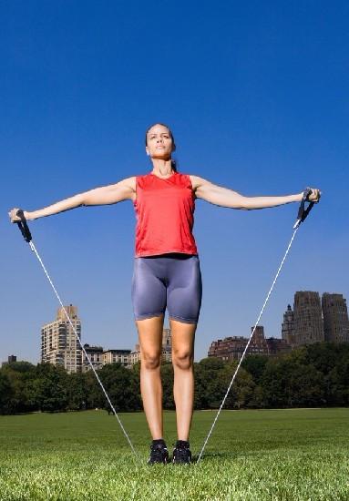 美体塑形:瘦腿运动