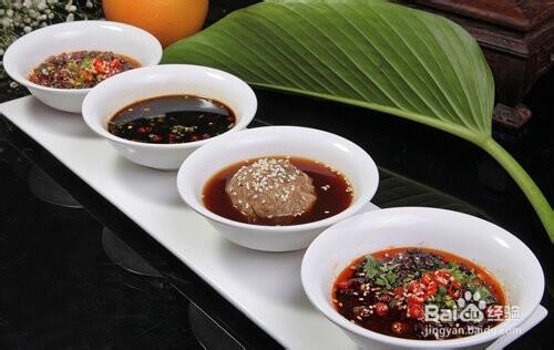 火锅的各种蘸料搭配,包你好吃!
