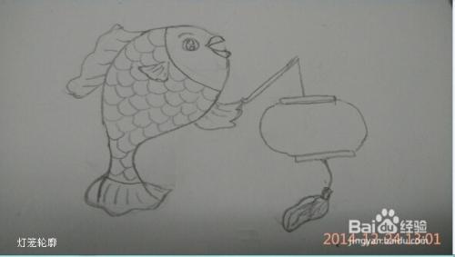简笔画 教小朋友画年画