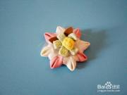 儿童衣服装饰花的做法