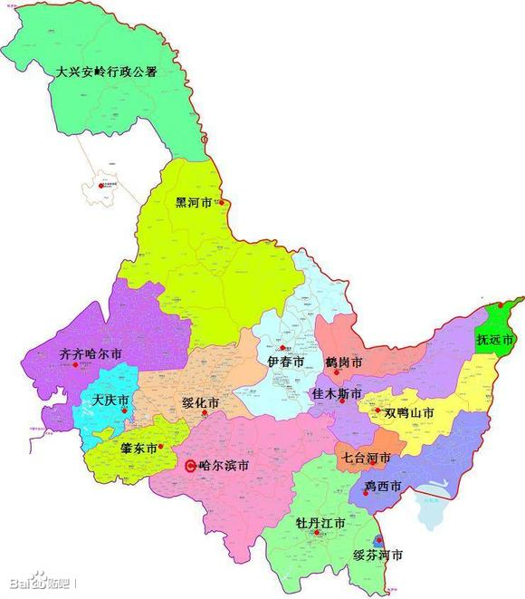 黑龙江省桦南县地图_建议设立地级肇东市后黑龙江省地图_黑龙江吧_百度贴吧