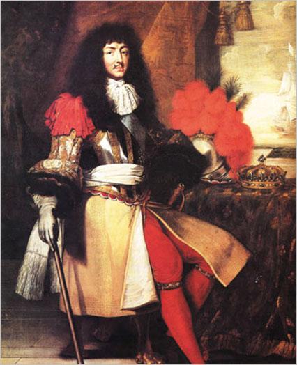 18世纪欧洲宫廷_法国太阳王路易十四