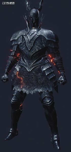 黑暗铠甲图片_NO.10 黑骑士套装
