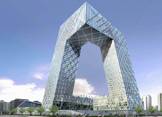 解构主义建筑风格_后现代主义建筑作品的一个很好的例子,象征隐喻性什么的~~