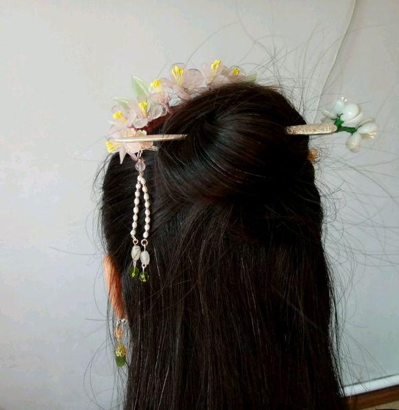 【花开满庭芳】玉簪花教程(基本材料篇)