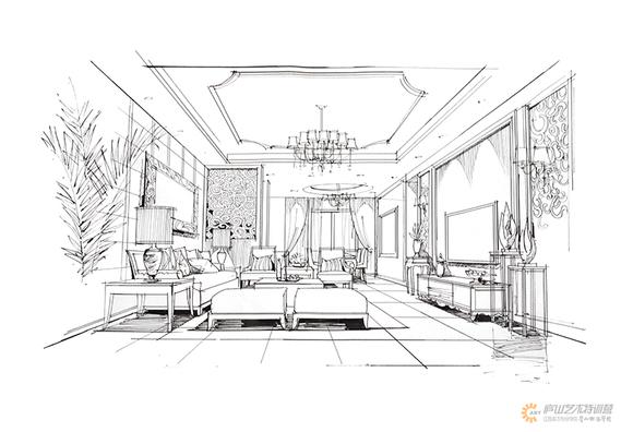 庐山手绘特训营官网_餐饮空间设计与表达