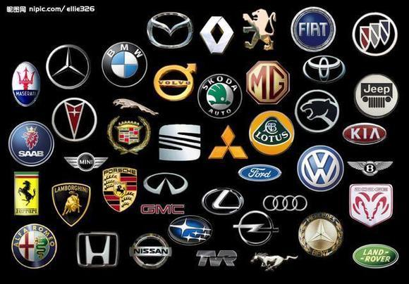亲!爱车的教你快速认识汽车标志