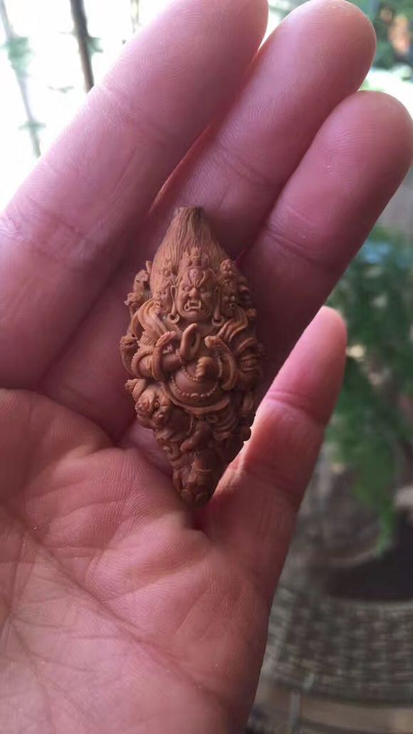 滇派核雕胡向东藏传佛教系列二 福荣堂工作室 10