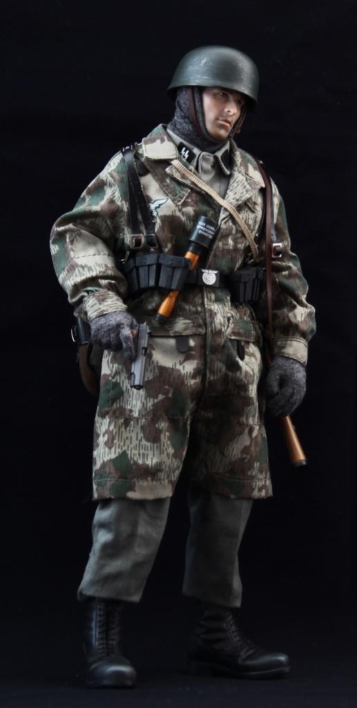 德国兄弟连_德军伞兵,号称绿魔,在西西里。诺曼底等战役中作战英勇顽强 ...