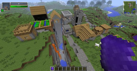 我的世界末影要塞_我的世界奇葩种子!【minecraft吧】_百度贴吧