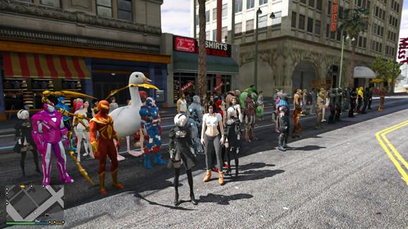 GTA5终极MOD整合版:1000辆车+300人物+各种MOD整合【含有txt多种下载文档和BT种子】