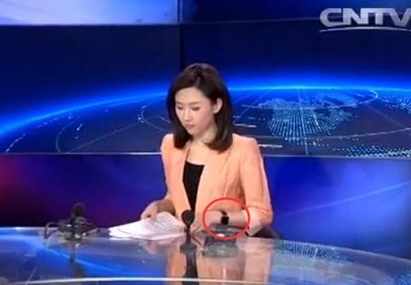 女主播戴苹果手表