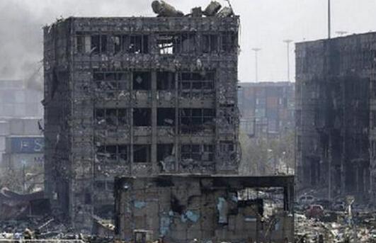 天津爆炸受损房屋