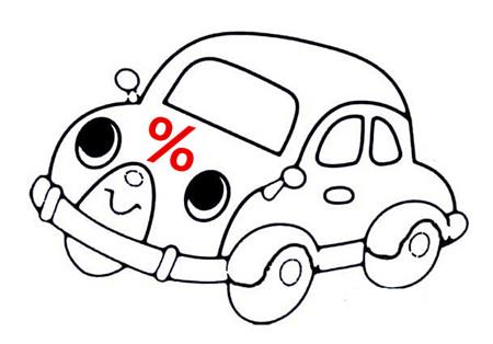 银行汽车抵押不押车贷款利率
