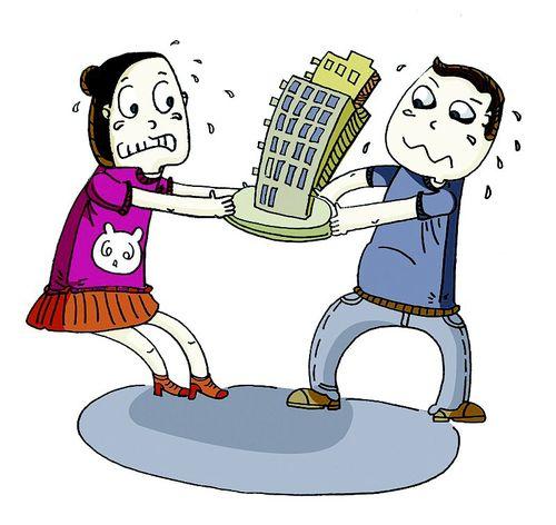 离婚如何办理房产析产?