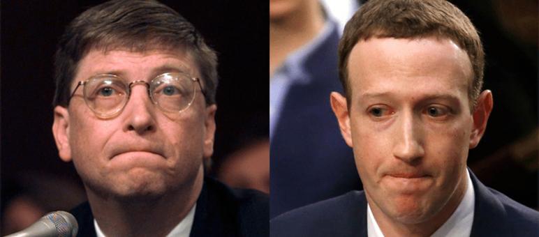 听证会之变:从比尔盖茨到扎克伯格 互联网已从仆人变主人